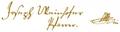Michael Weinhofers Unterschrift.png