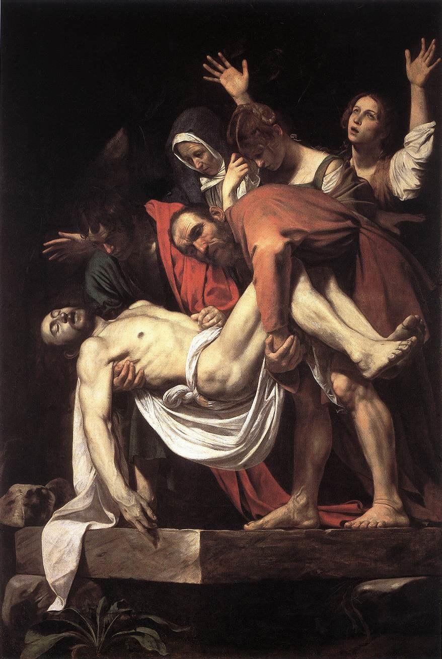 Michelangelo Merisi da Caravaggio - The Entombment - WGA04148