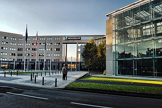 Michelin - Michelin headquarters in Clermont-Ferrand