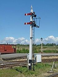 Midland Railway Junction signal (6106329335).jpg