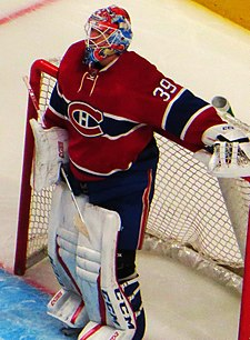 Mike Condon, Montreal Canadiens 3, Ottawa Senators 4, Centre Bell, Montreal, Quebec (29773480240) (cropped).jpg