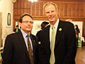 Mike Schreiner and Frank de Jong Hart House 2009.jpg