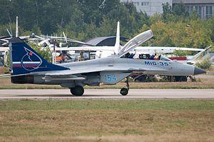 Mikoyan MiG-35 - MIG-35 at MAKS 2009