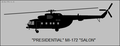 Mil Mi-172 Salon side-view silhouette.png