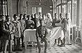 Militares heridos en la guerra de África en el Gran Casino de San Sebastián habilitado como hospital de la Cruz Roja (6 de 15) - Fondo Car-Kutxa Fototeka.jpg