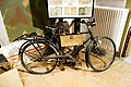Military messenger bike used at the Battle of the Bulge (32434987705).jpg