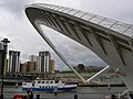Millennium Bridge, North Pier - geograph.org.uk - 477246.jpg