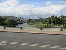 Millennium Bridge in Podgorica.JPG