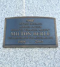 Milton Berle Grave.JPG