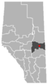 Minburn, Alberta Location.png