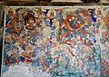 Ming Dynasty mural of Mahacakra (大輪明王; 大轮明王; Dalun Mingwang) and Yamantaka (大威德明王; Daweide Mingwang), two of Ten Wisdom Kings (十大明王), in Dayun Temple (浑源大云寺), Hunyuan, Datong, Shanxi, China.jpg