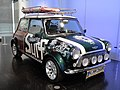 Mini Road to IMM18 Art Car by Nic Nagel at the BMW Museum - front view.jpg