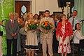 Ministru prezidents Valdis Dombrovskis piedalījās X Latvijas skolu jaunatnes dziesmu un deju svētku atklāšanā (4768050694).jpg