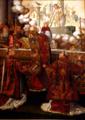 Misa de San Gregorio Magno. (Retablo de la capilla de los Evangelistas de la catedral de Sevilla).png