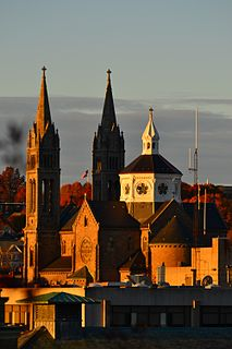 Basilica and Shrine of Our Lady of Perpetual Help Church in MA , United States