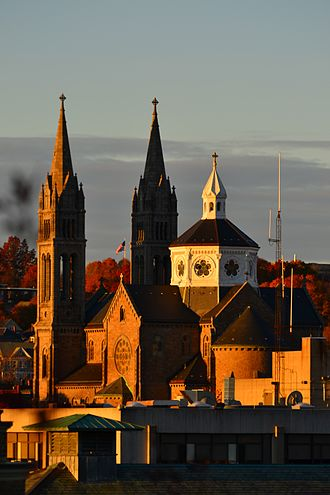 Basilica and Shrine of Our Lady of Perpetual Help - Image: Mission Church Boston MA USA