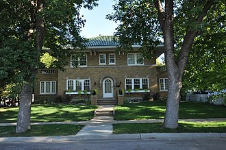 National Register of Historic Places listings in Davison County, South Dakota - Image: Mitchell SD Bauer House