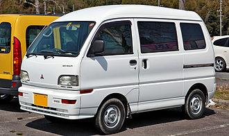 Mitsubishi Minicab - Fifth generation Minicab van.