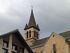 Mizoën, Frankrijk (1080 m.) Church 01.JPG