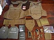 Modular Tactical Vest components