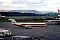 Monarch Airlines BAC 111-518FG One-Eleven; G-BCWG@ZRH,November 1975 DRU (5163671991).jpg