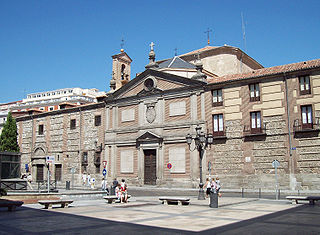 Convent of Las Descalzas Reales monastery in Madrid, Spain