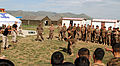 Mongolian Armed Forces take part in a mechanical advantage control holds competition during Non-Lethal Weapons Executive Seminar (NOLES) 13 at the Five Hills Training Area in Mongolia Aug. 19, 2013 130819-M-DR618-010.jpg