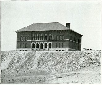 Montana Tech of the University of Montana - Image: Montana School of Mines (Montana Tech), 1900