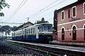 Monte Compatri - stazione di Pantano Borghese - elettrotreno 812.jpg