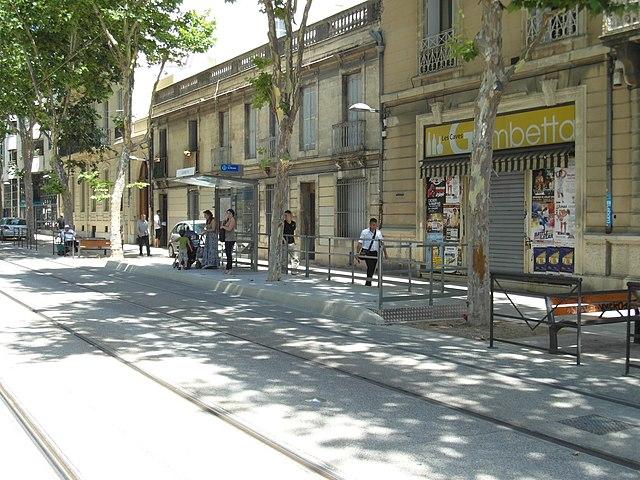 File montpellier tramway ligne 3 centre ville - Location meuble montpellier centre ville ...