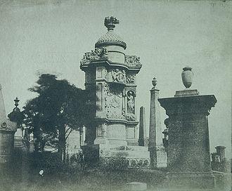 Glasgow Necropolis - John Henry Alexander Monument