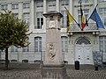 Monument to Jenneval, Brabançonne poet; & Flemish Prime Minister's Office; Brussels, Belgium 1 (4040057580).jpg