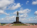 Monument to Valery Chkalov (Nizhny Novgorod) 2018.jpg