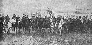 Second Army (Serbia) - Bitola, Moravian Division, celebration of Christmas Eve, 1912