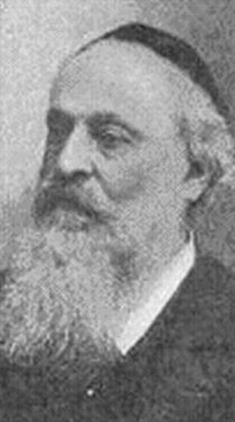 Moritz Güdemann - Portrait of Moritz Güdemann