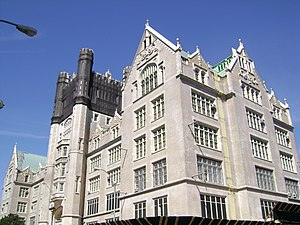 Morris High School Historic District - Image: Morris High School Historic District, Roughly bounded by Boston Rd., Jackson and Forrest Aves., and E. 166th and Home Sts., Morrisania, Bronx County, New York