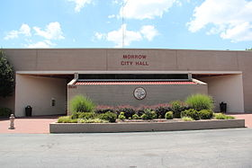 Morrow, Georgia city hall.JPG