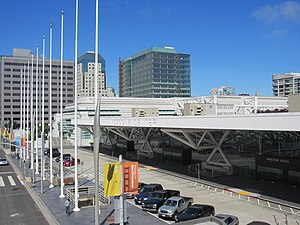 1984 Democratic National Convention - The Moscone Center was the site of the 1984 Democratic National Convention