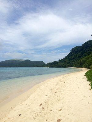 Moso (island) - Moso Island Beach by Tassirki village.