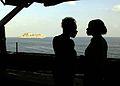 Mother, daughter spend Thanksgiving aboard USS Theodore Roosevelt DVIDS132730.jpg