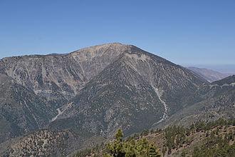 Mount Baden-Powell - Mount Baden-Powell as seen from Blue Ridge