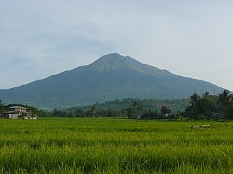 Negros Island - Mount Kanlaon, the highest peak in Negros