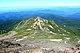 東方から望む継母岳(2013年7月9日)