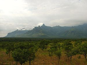 Mount Moroto - Image: Mount Moroto from the West side