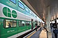 Mount Pleasant GO Train - Train GO, Mount Pleasant (24321994847).jpg