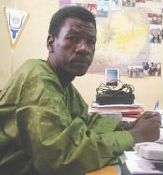 Human rights in Niger - Journalist Moussa Kaka in Niger, prior to his 2007 arrest.