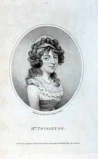 Charlotte Wattell English actress, first wife of Thomas James Twistleton