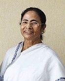 Ms. Mamata Banerjee, in Kolkata on July 17, 2018 (cropped) (cropped).JPG