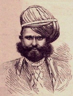 History of Radhanpur - Image: Muhammad Jorawar Sher Khan 01