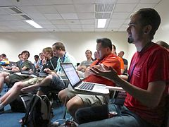 Multimedia Roundtable - Wikimania 2013 - 10.jpg